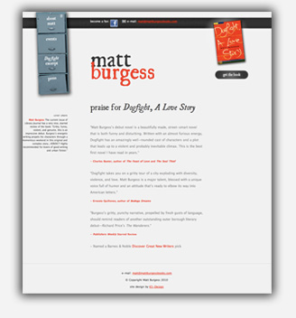 Matt Burgess Books